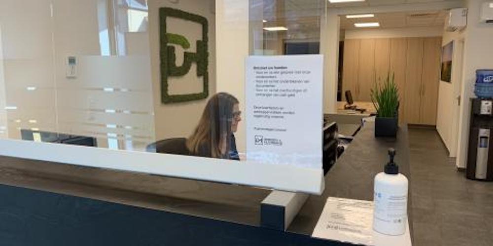 Ons kantoor is coronaproof!